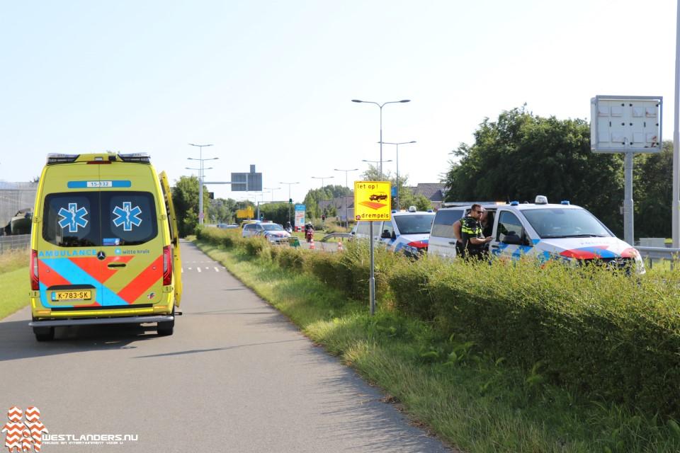 Gewonde bij ongeluk Dirk van den Burgweg