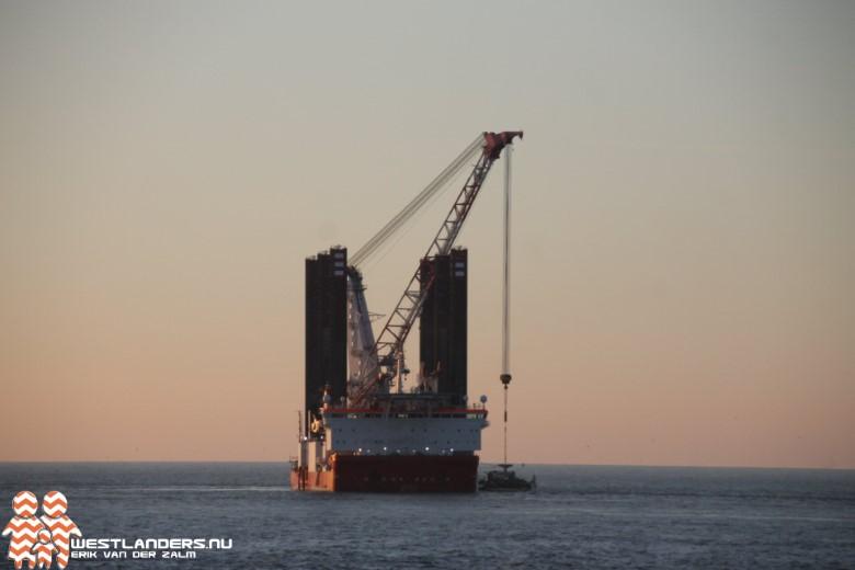 Stroomkabels voor windpark Hollandse kust