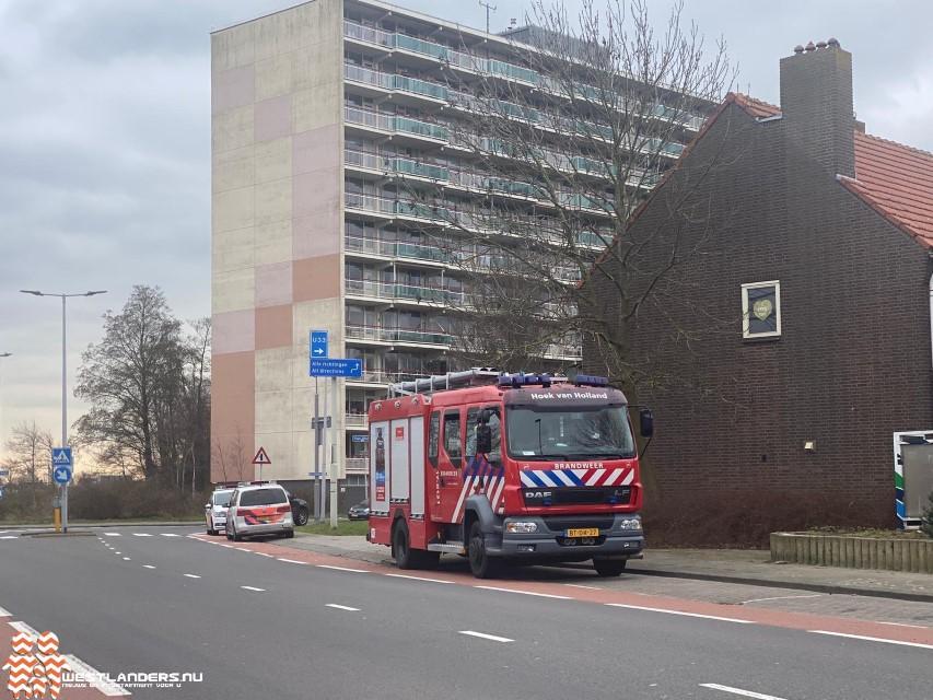Medische noodsituatie in Hoek van Holland