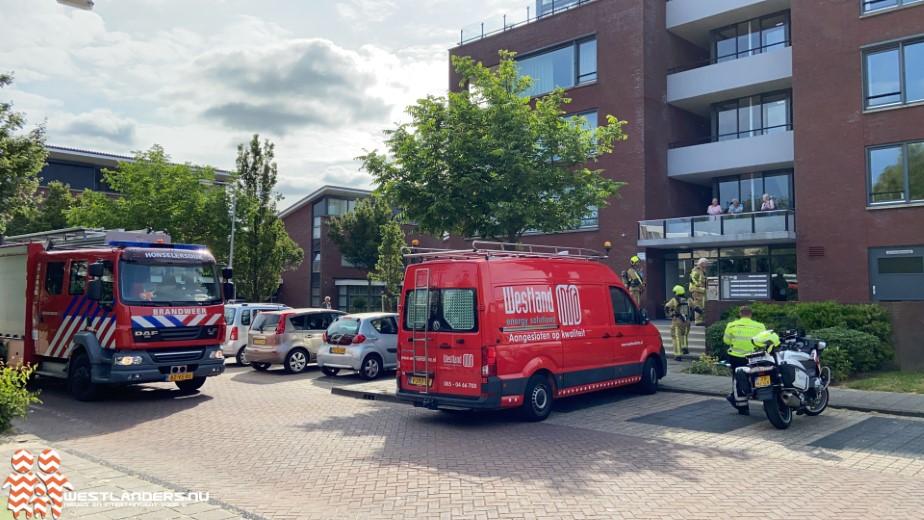 Gaslekkade in woning Arendshorst