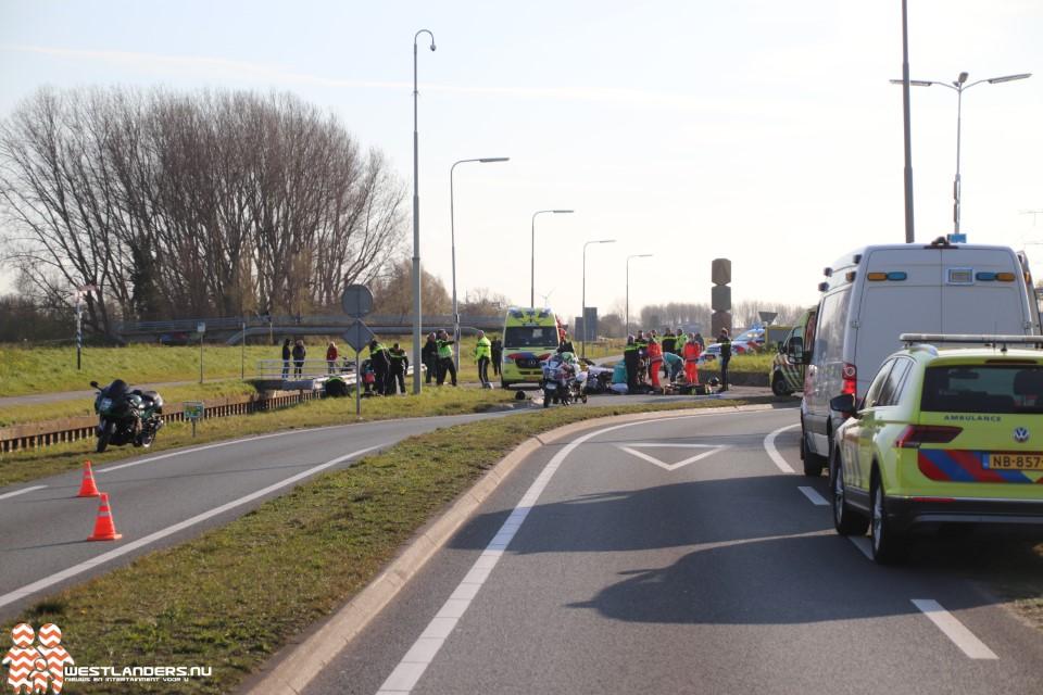 Dodelijk motorongeluk op de Westlandroute