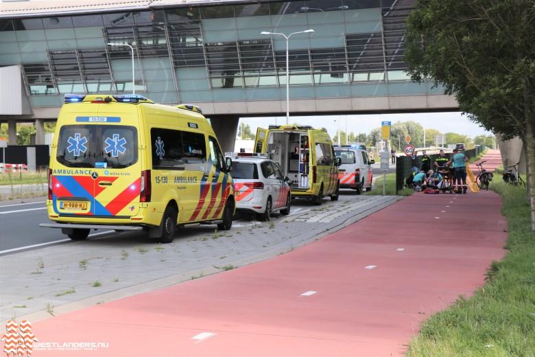 Fietsster ernstig gewond na val op fietspad