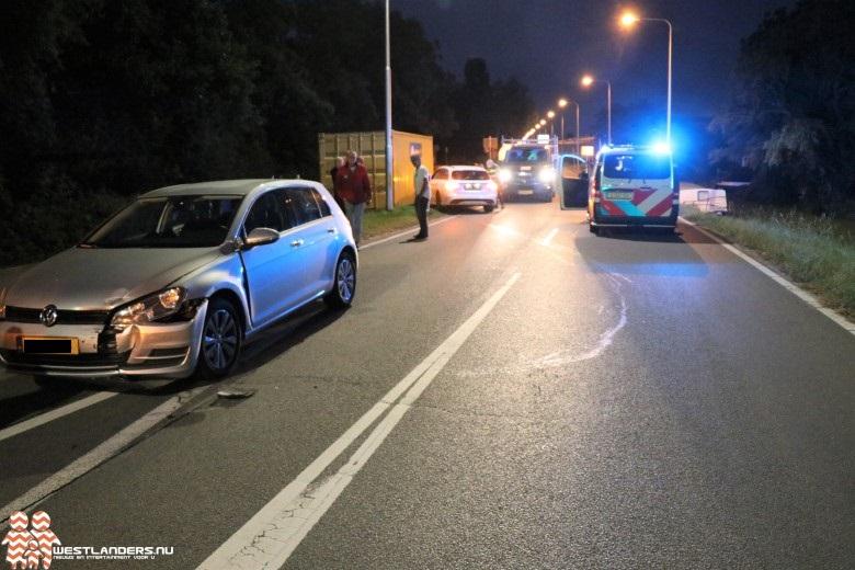 Autodief op de vlucht na veroorzaken ongeluk