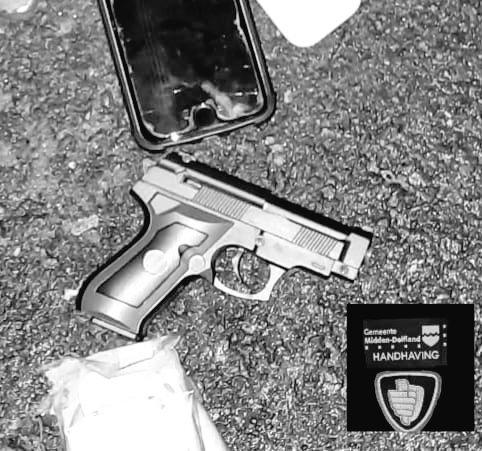 Jongen mag nepwapen inleveren