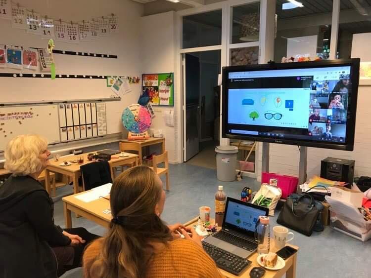 Online lessen voor de jongste kinderen gestart!