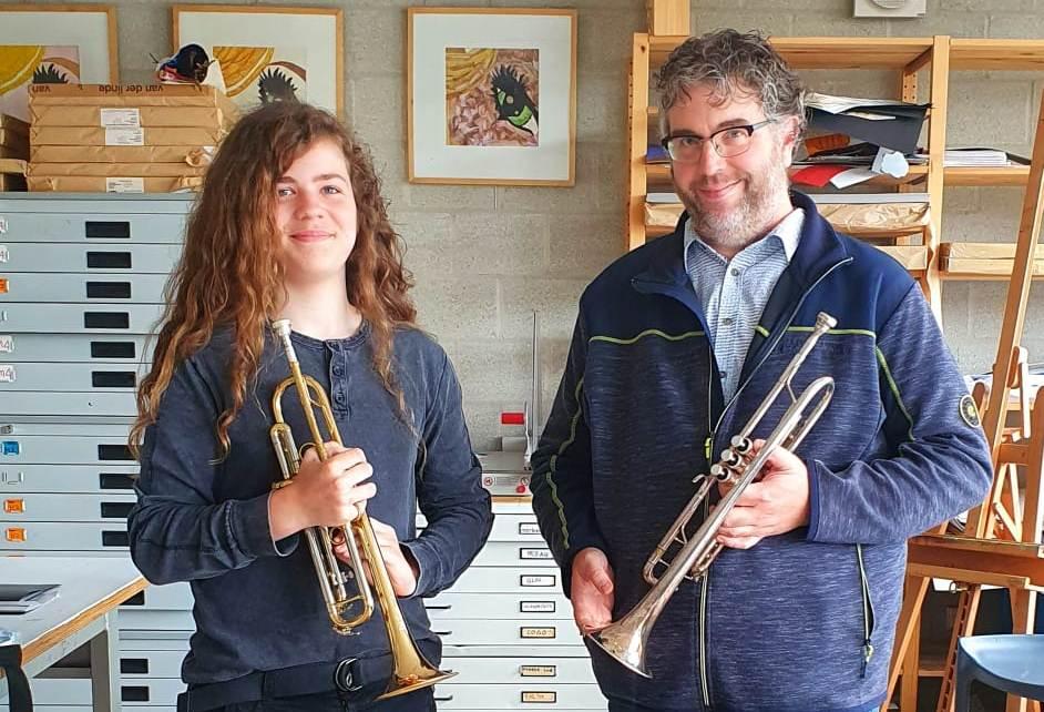 Weer leerling Rotterdam aan Zee geslaagd voor muziekexamen