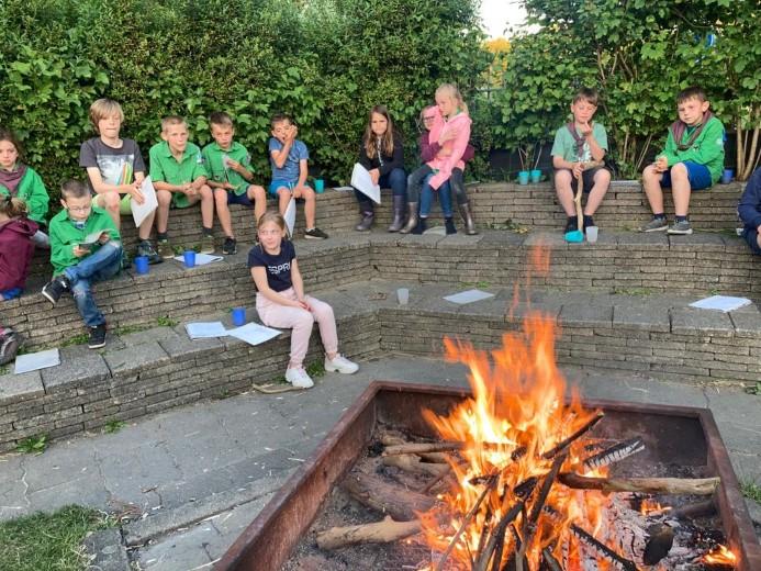 Welpen Scouting Polanen na 1,5 jaar weer een weekendje