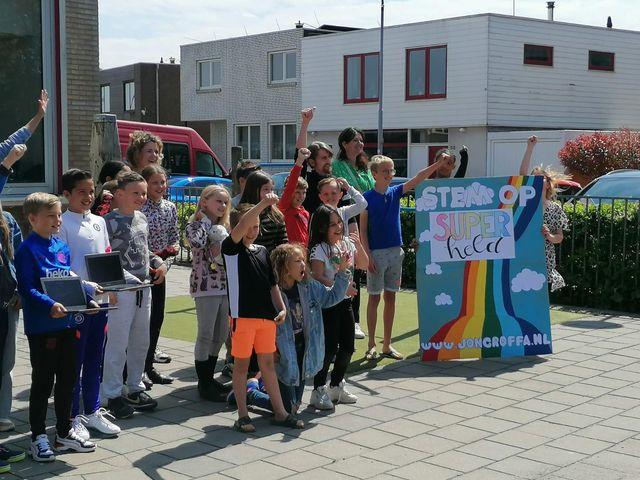 Jozefschool winnaar finale Jong Roffa Songfestival