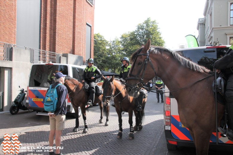Zes aanhoudingen in Den Haag tijdens Prinsjesdag