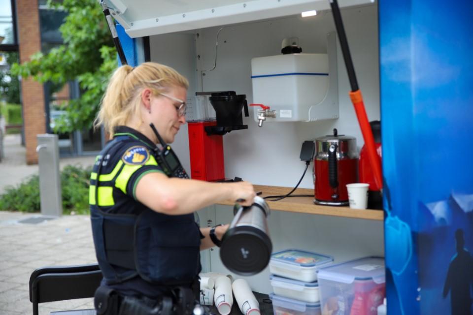 'Coppie Koffie' met de Westlandse politie