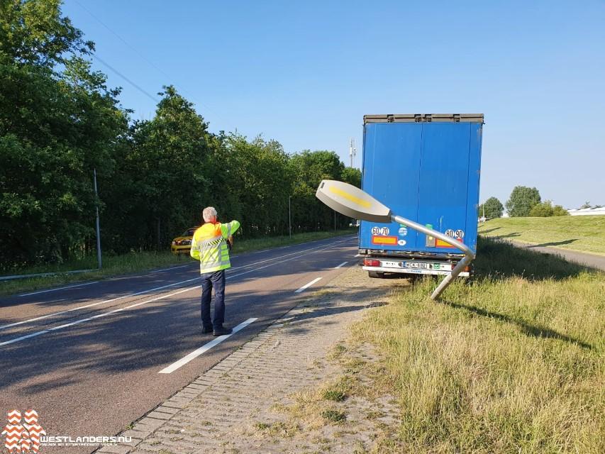 Hongaarse chauffeur kiest het hazenpad