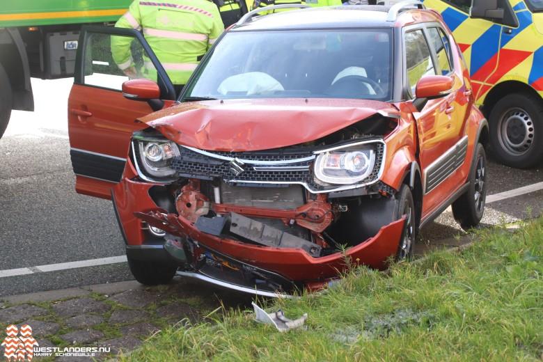 Weer ongeluk bij afrit A20 Maasdijk
