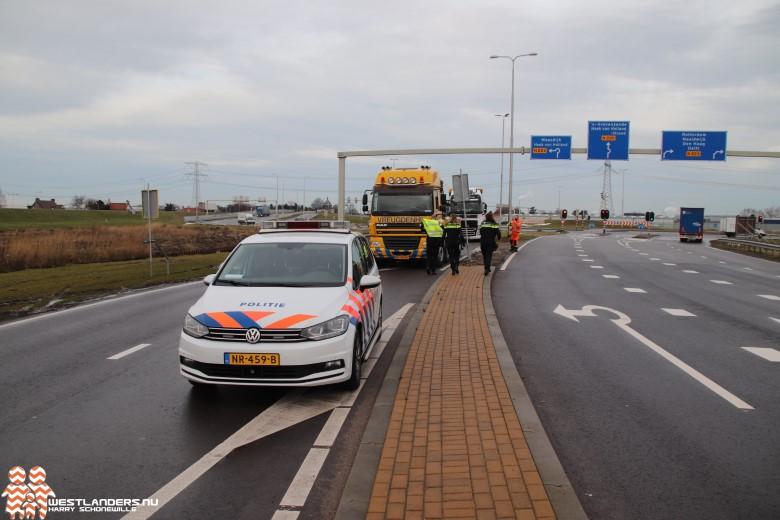 Gedoe rondom afhandeling ongeluk met vrachtwagens