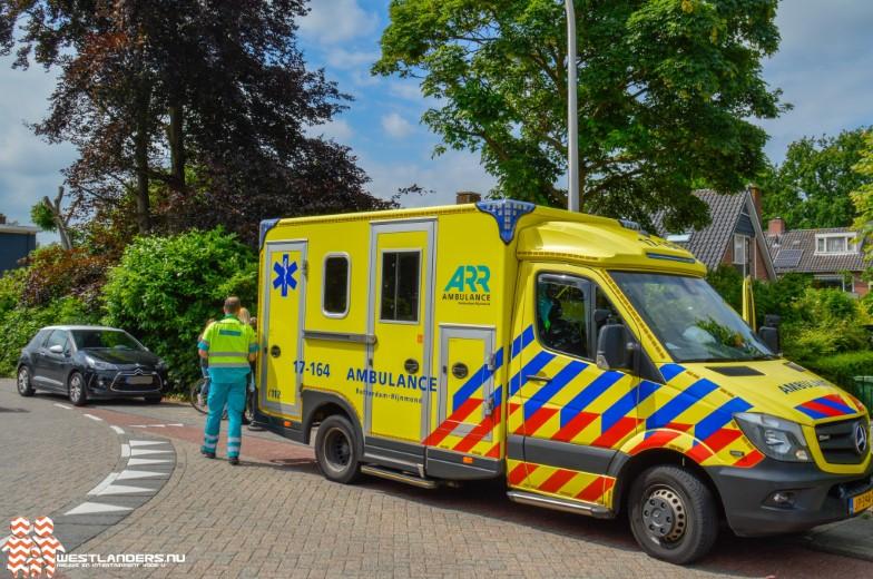 Fietsster gewond na ongeluk Kerkweg