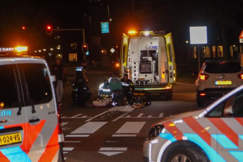 Automobilist doorgereden na ongeluk