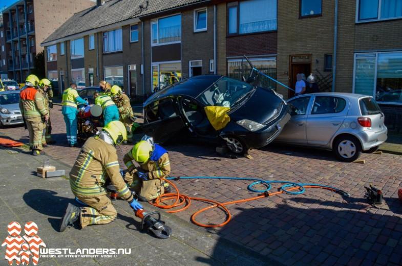 Vreemd ongeval in Maassluis
