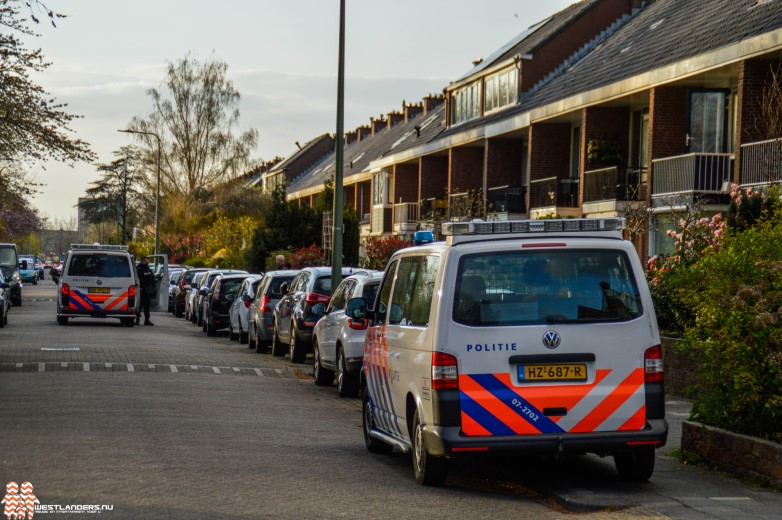 Aanhouding na instap politie in woning