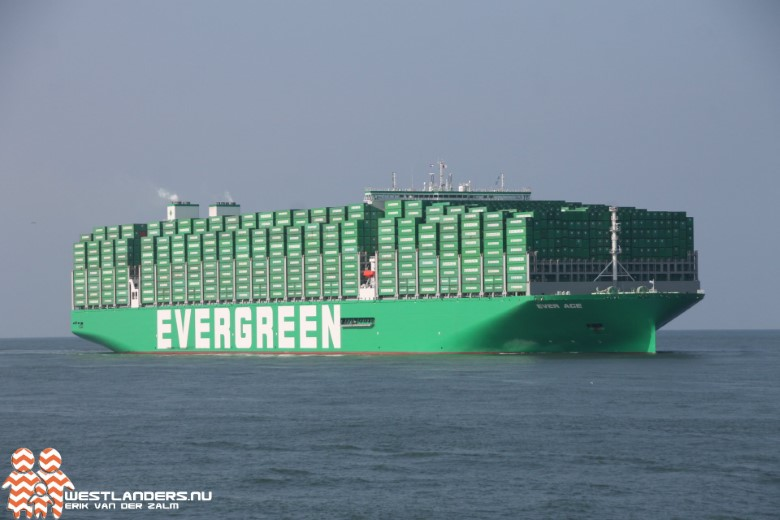 Maidentrip Ever Ace in Rotterdamse haven