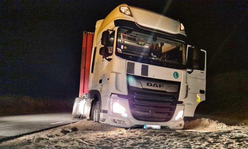 Duur dutje voor vrachtwagenchauffeur