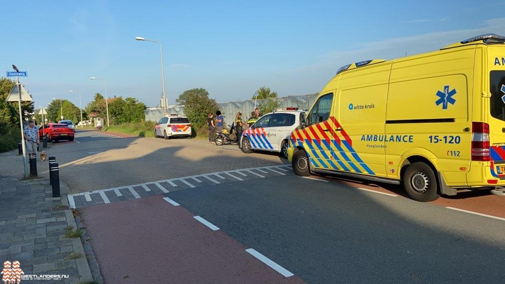 Scooterrijder gewond na ongeluk Madeweg