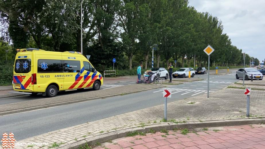 Fietsster gewond na ongeluk Molenweg