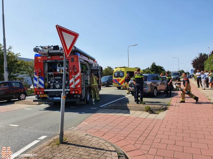 Ongeluk aan de Emmastraat (N211)