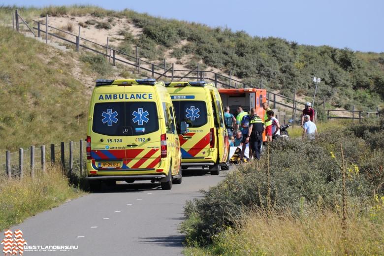 Twee gewonden bij ongeluk op fietspad in de duinen