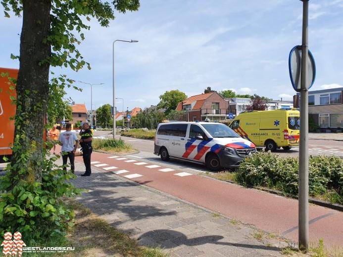 Ongeluk aan de Van der Hoevenstraat