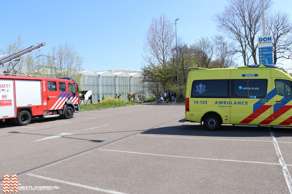 Voetballen eindigt in ritje ziekenhuis