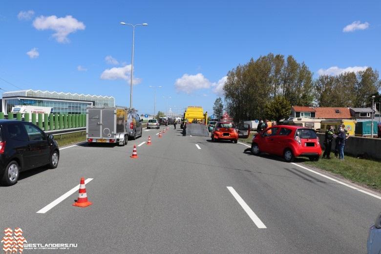 Ongeluk tijdens werkzaamheden bij Westerlee