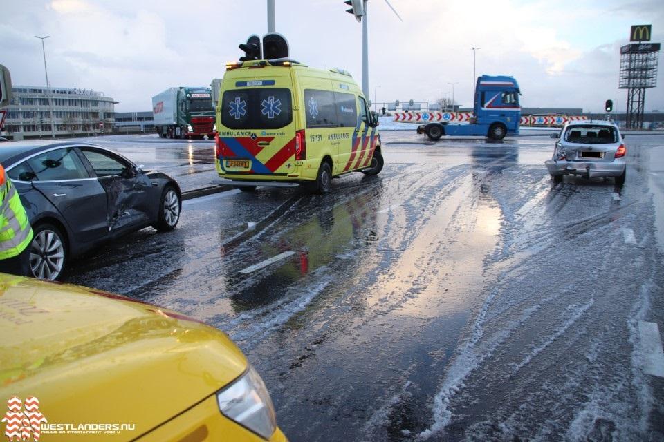Ongeluk bij Westerlee na hagelbui