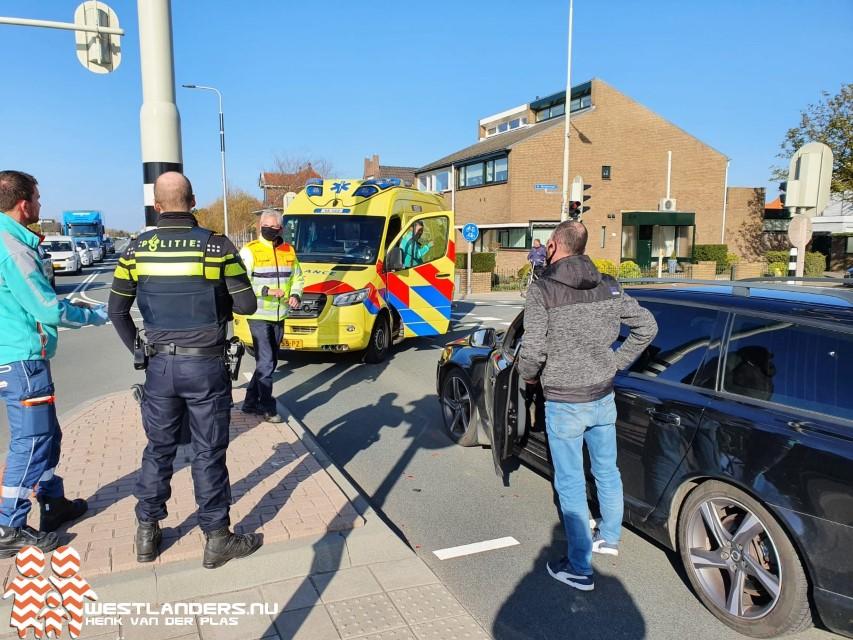 Licht gewonden bij ongeluk Nieuweweg