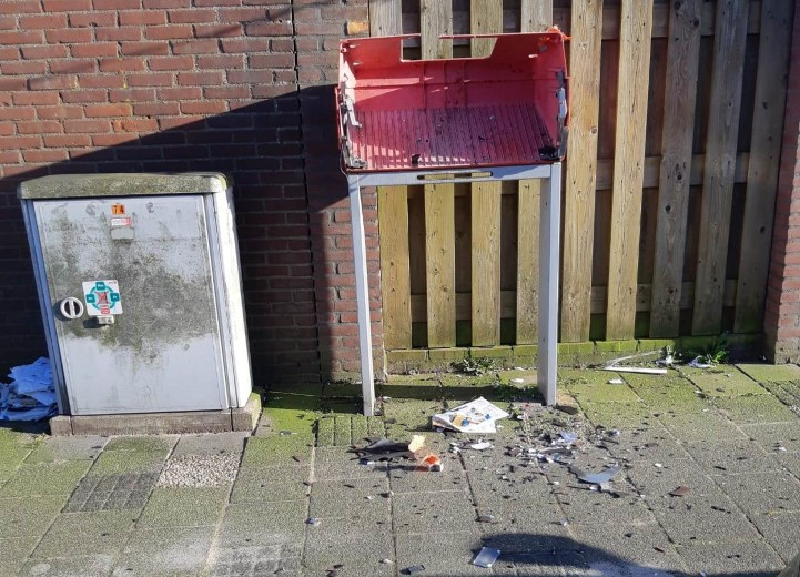 Brievenbus opgeblazen in Poeldijk