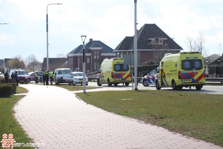 Drie gewonden bij ongeluk Nieuweweg