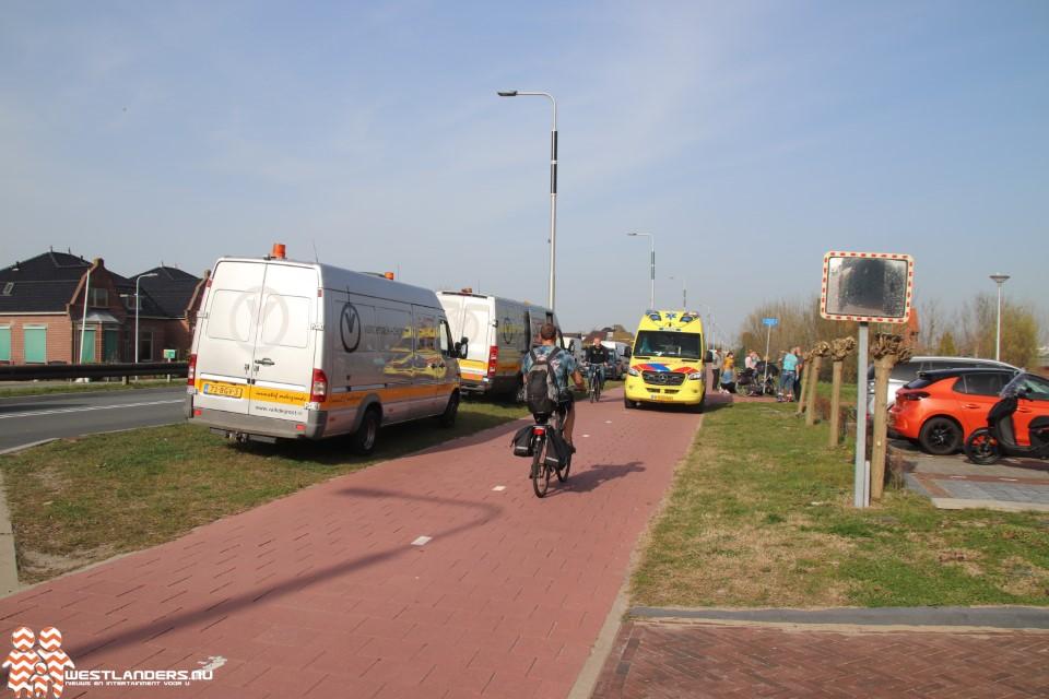 Licht gewonde bij ongeluk Nieuweweg