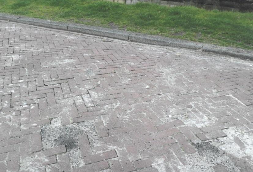 Kleinschalige reparatie straatwerk Elisabethvloed acceptabel