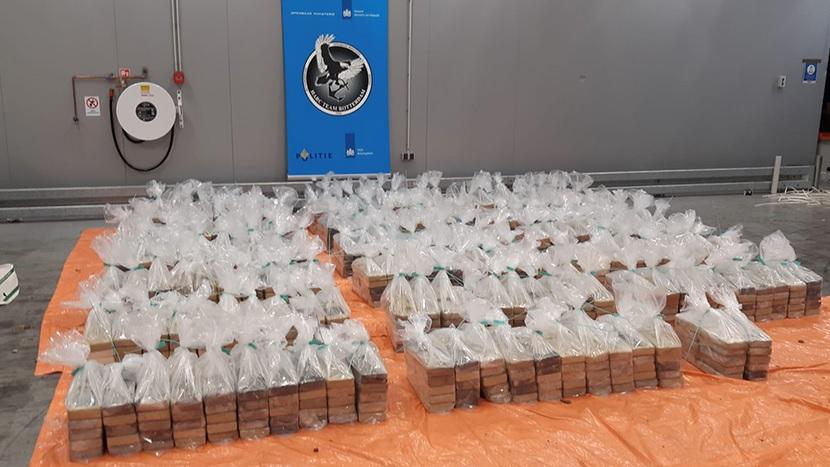 Weer grote drugspartij onderschept door douane