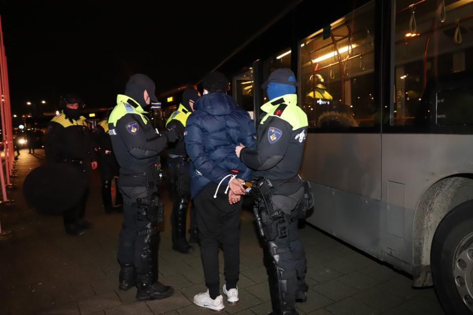 Grote escalaties in Rotterdam voorkomen