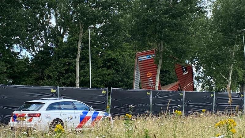 Motoragent verongeluk in de Waalhaven