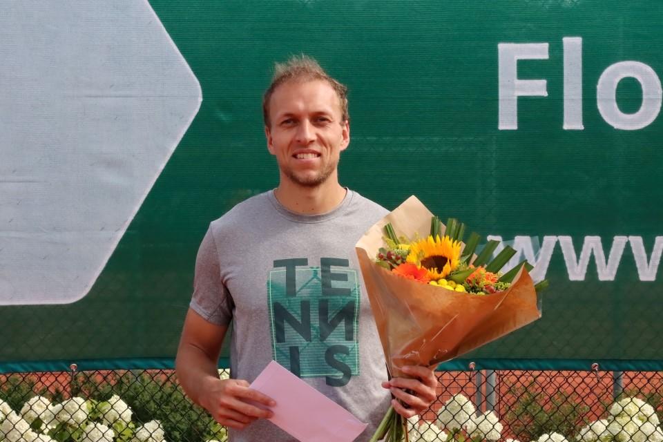 Senne Braun winnaar 57e editie tennis tournooi Naaldwijk