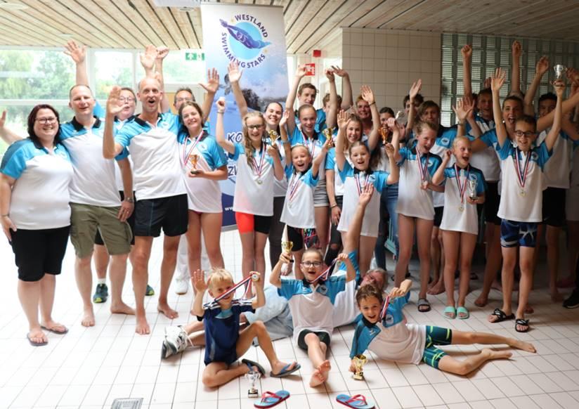 Bestuurswisseling Westland Swimming Stars