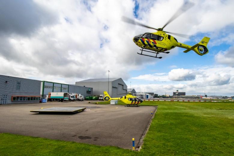 Wisseling van de wacht voor traumahelikopters
