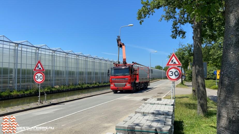 Nieuweweg Honselersdijk twee dagen later open