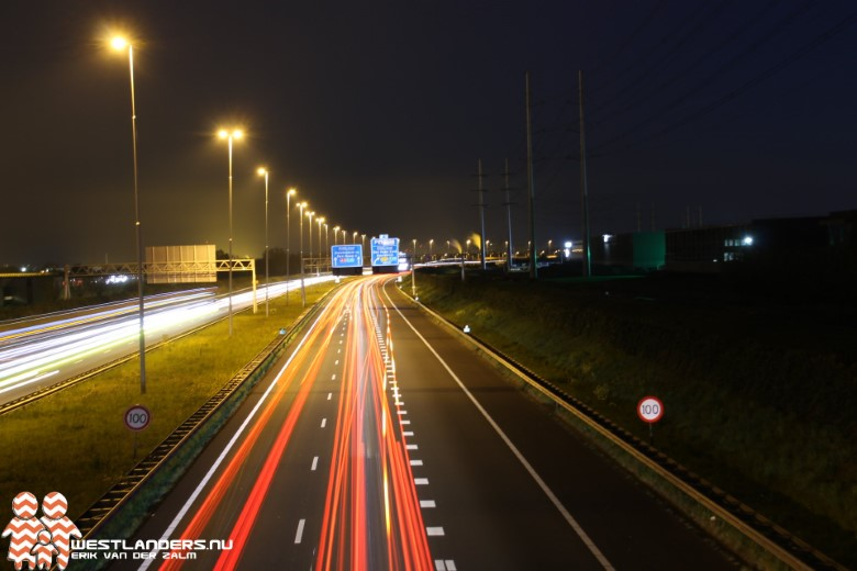 Joyriden op de A13 tijdens de avondklok