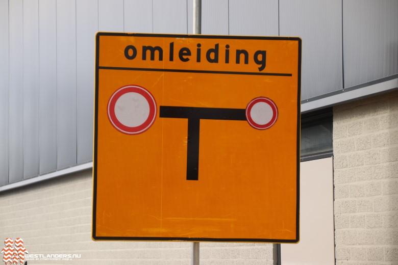 Wegafzetting Dijkweg-Nieuweweg verlengd tot en met 10 juni