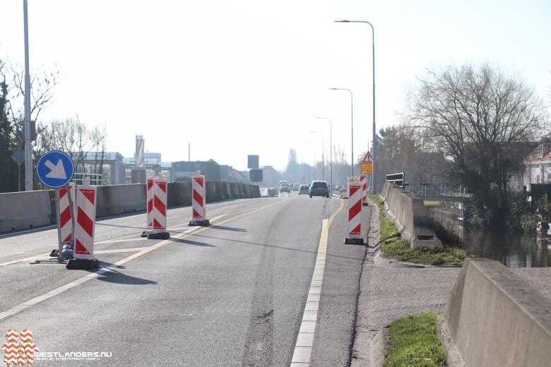 Nachtafsluiting Nieuweweg tussen Rolpaal en Poeldijk