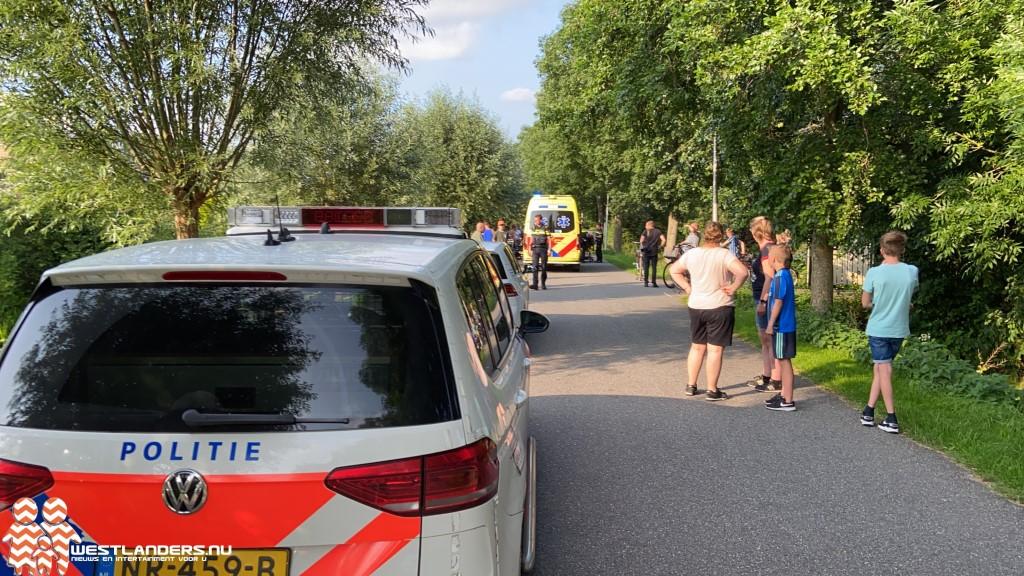 Voetganger gewond bij ongeluk Bovendijk