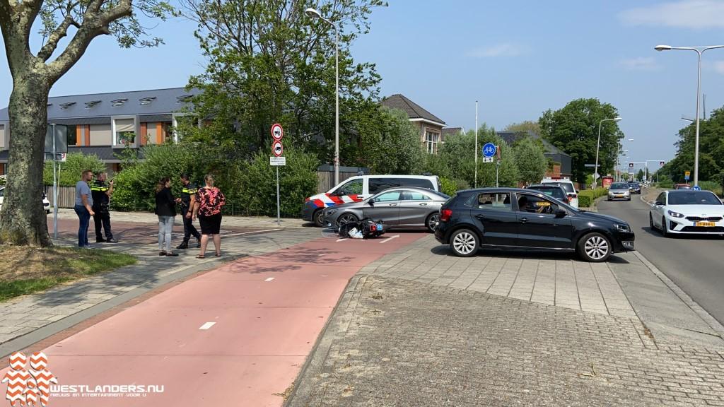 Ongeluk bij hotspot Heulweg