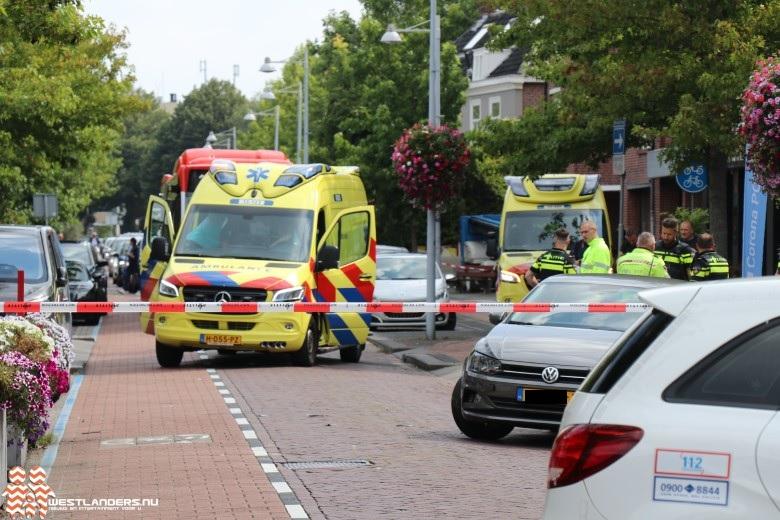 Scooterrijder ernstig gewond na ongeluk Herenstraat