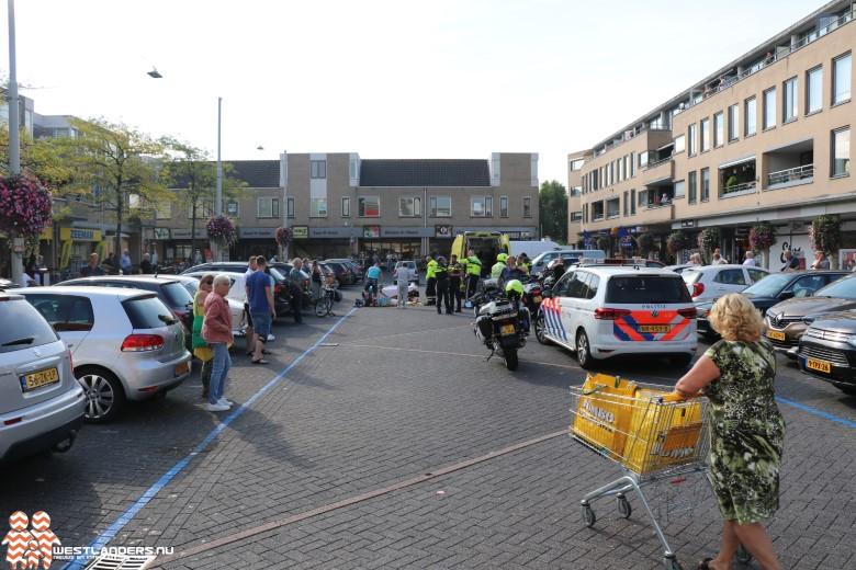 Fietsster gewond bij ongeluk Vliethof